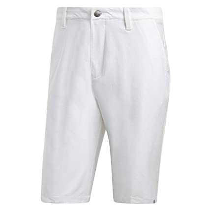 84d42ee22e Adidas 2018 Mens Ultimate Stretch Water Resistant Golf Shorts White/Grey 32