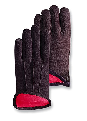 - Magid CH214T Premium Redined Jersey Gloves Brown ,Large