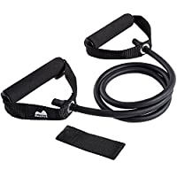 Reehut Single Resistance Band, Exercise Tube - With Door Anchor and Manual