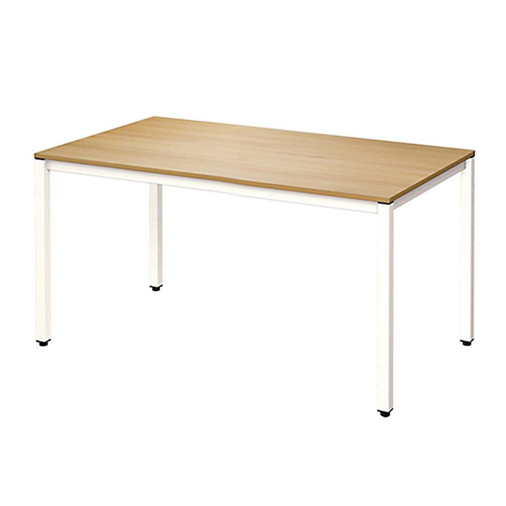 Need Computer Desk Computer Table Office Desk KSAC3BW-140 Teak&White, 55''