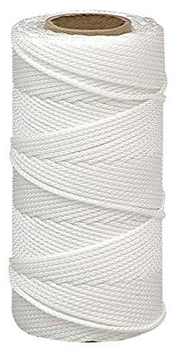 - Lehigh BNT12W6 18-Inch by 500-Feet Nylon Braided Mason Line, White