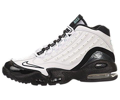 Nike Men's Air Griffey Max II White/White/Black/Hyper Jade Training Shoe 8.5 Men ()