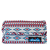 KAVU Mondo Spender Tri-Fold Wallet with Snap Closure - Desert Retreat
