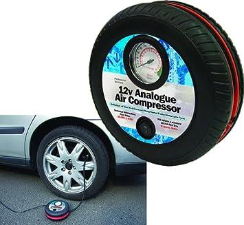 Streetwize SWAC13 Compresor de aire para inflar ruedas de automóvil, portátil, 12 V: Amazon.es: Coche y moto