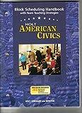 American Civics, Holt, Rinehart and Winston Staff, 0030387221
