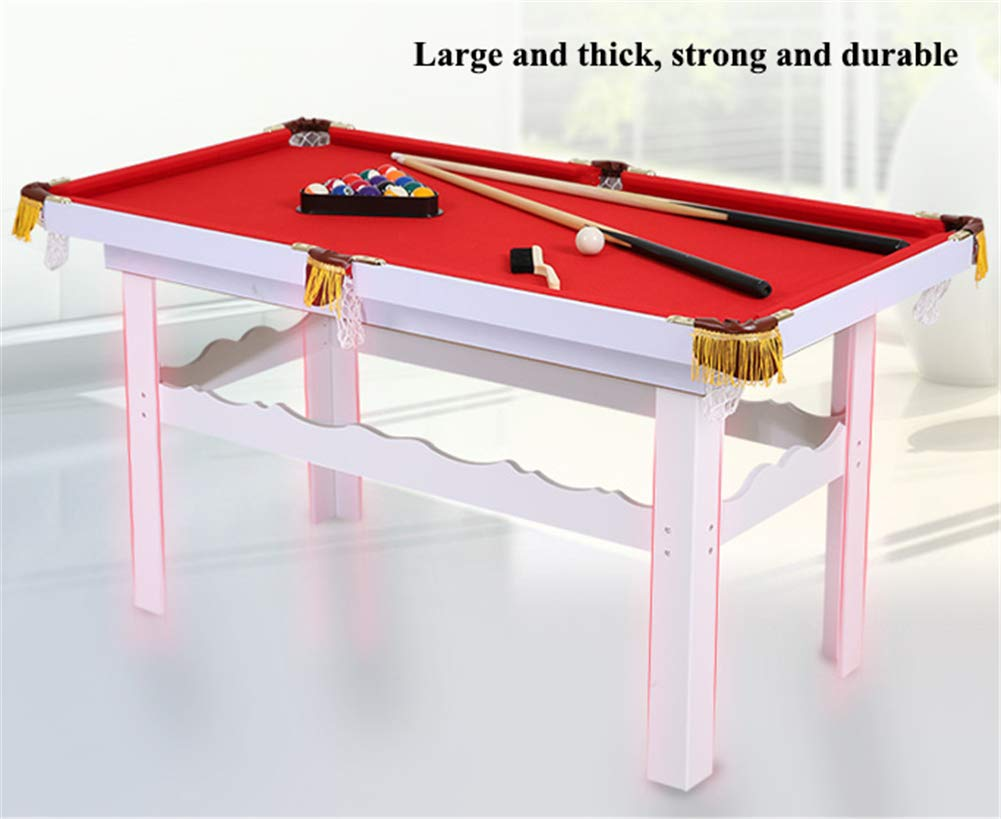 Lcyy-game Mesa de Billar de Mesa con Patas. Incluye 2-Pieces Pool ...