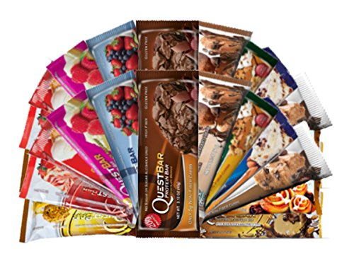 Quest Bar Variety Bundle- 24 Pack (2 of Each)
