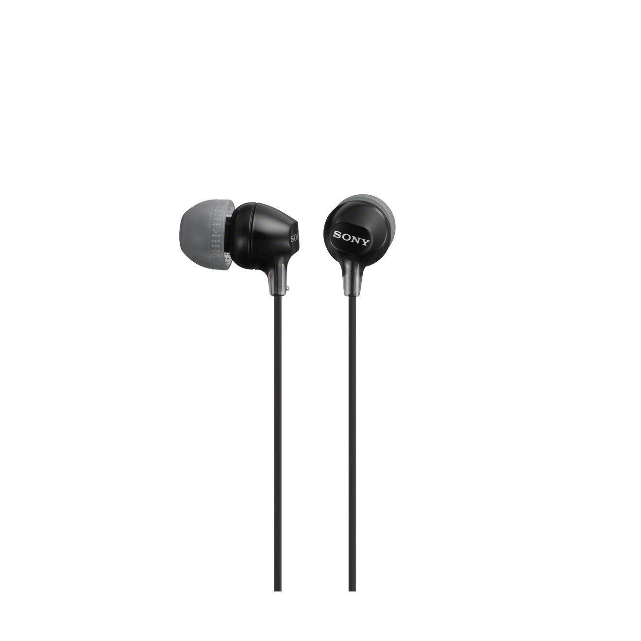 Sony Earphones- MDREX15LP (Black)