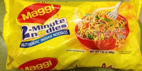 Maggi Masala 2-Minute Noodles India Snack - 600 Grams by Maggi