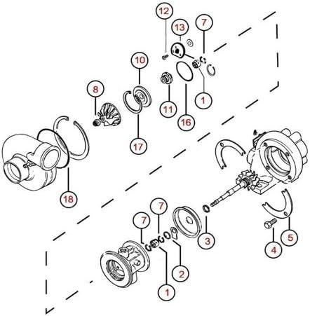 Turbo Rebuild Kit Repair Kit for Garrett T2 T25 T28 TB02 TB25 TB28 Turbocharger 360 Thrust Bearing Dynamic