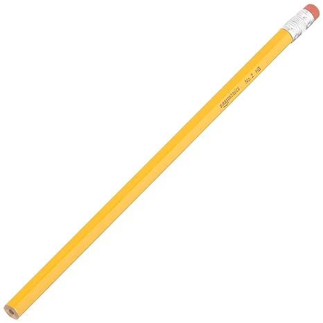9053dbd13b2ec AmazonBasics Wood-cased Pencils - #2 HB Pencil - Box of 24