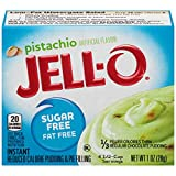 Jell-O Instant Sugar-Free Fat-Free Pistachio Pudding & Pie Filling, 1 oz Box