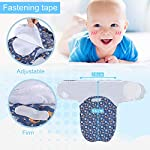 Lictin-Baby-Swaddle-Blankets-for-Newborn-Baby-0-6-Months-56x28cm-Swaddle-Blanket-0-3-Months-Adjustable-Swaddle-Blanket-3-6-Months-2pcs-Wrap-Blankets-with-3pcs-Baby-Cotton-Caps