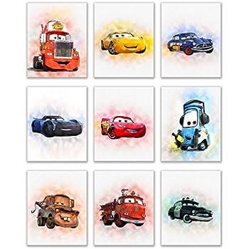Amazon.com: POSTER STOP ONLINE Cars - Disney/Pixar Movie Poster ...