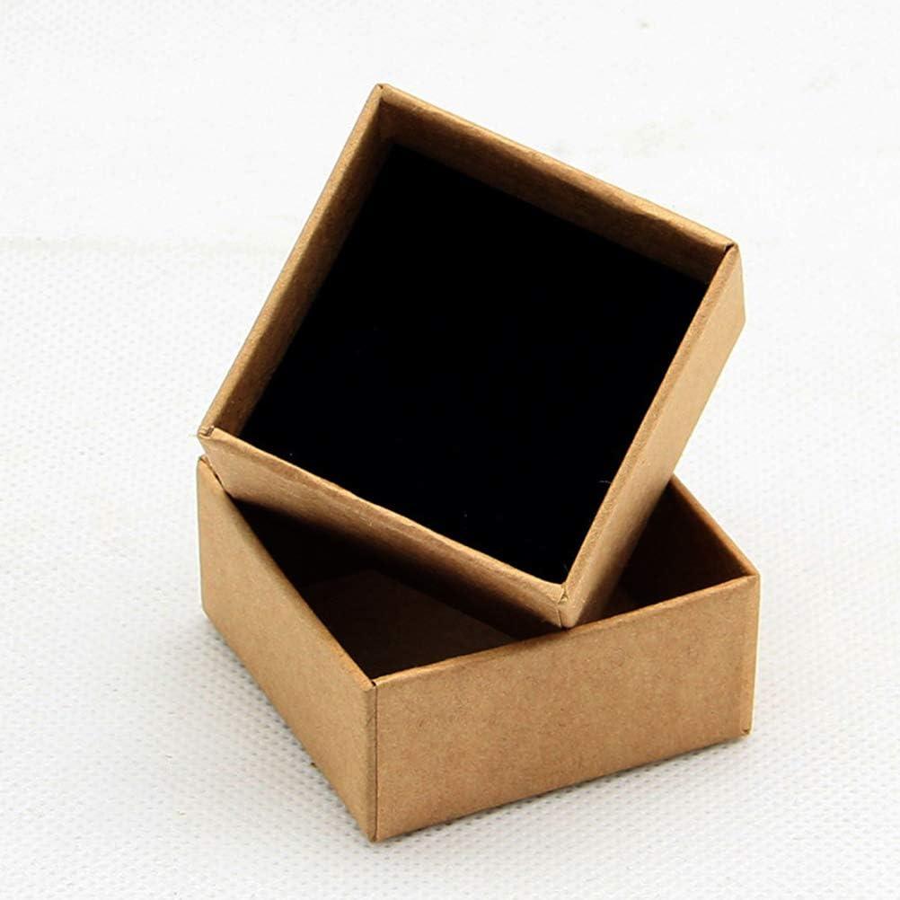 Artibetter Cassa del Regalo della Scatola di Gioielli di Carta del Cartone di 12pcs per i Braccialetti degli Orecchini