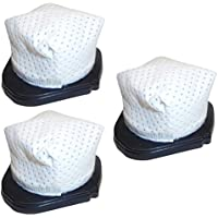 3 Pack Washable Shark SV736, SV738, SV748, SV760, SV780 Dust Cup Filters Designed & Engineered by Best Vacuum Filter