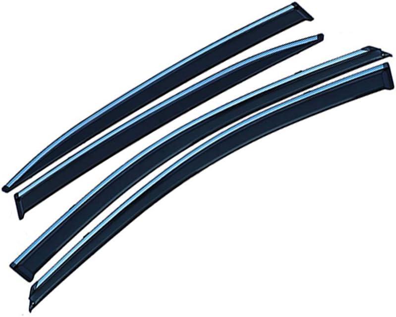 saitake Deflectores Viento para S Koda Fabia 2008-2014 Derivabrisas Deflectores de Aire Visera Lateral Ventanillas Viento y Lluvia