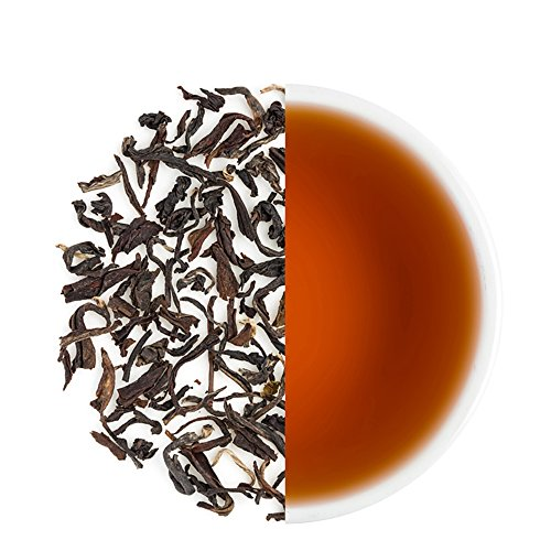 Teabox USDA Organic Himalayan Darjeeling Black Loose Leaf Tea 12 Oz. (170 Cups) | Fresh Whole Leaf Tea (2 Free Exotic Samples) |100% Natural Ingredients: Basil, Fennel, Orange | Sourced from India by Teabox (Image #3)