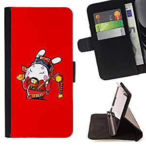 Jordan Colourful Shop - Funny Awesome Japanese Warrior For Samsung ALPHA G850 - Leather Case Absorci???¡¯???€????€?????????