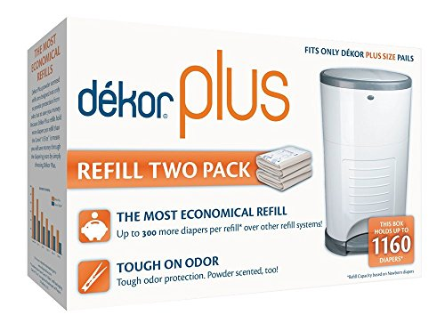 : Dekor Plus Refill Two Count