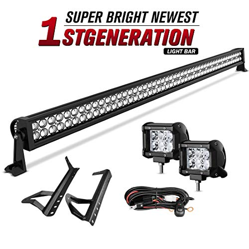 "50""Inch LED Light bar DWVO 288W Spot & Flood Combo + 2X 18W"