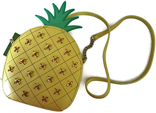 7464161dd699 Kate Spade How Refreshing Pineapple Swarovski crystal Novelty Crossbody Bag