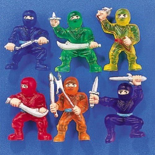 Amazon.com: Guerreros ninja de juguete de Fun Express, (1 ...