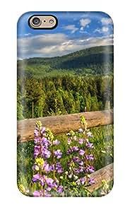 NadaAlarjane-YE Nature Flowers Durable Iphone 6 Tpu Flexible Soft Case
