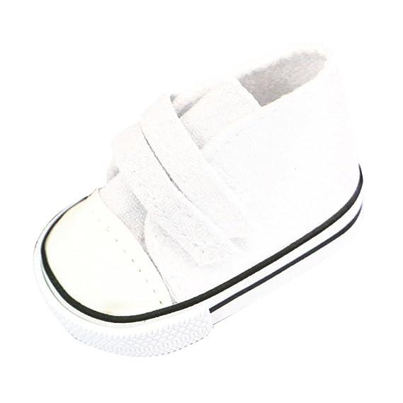 Pattini Appuntiti Scarpe Canvas Sneakers Tennis Cinghia Appiccicosa Per Bambole QFRA7Ll