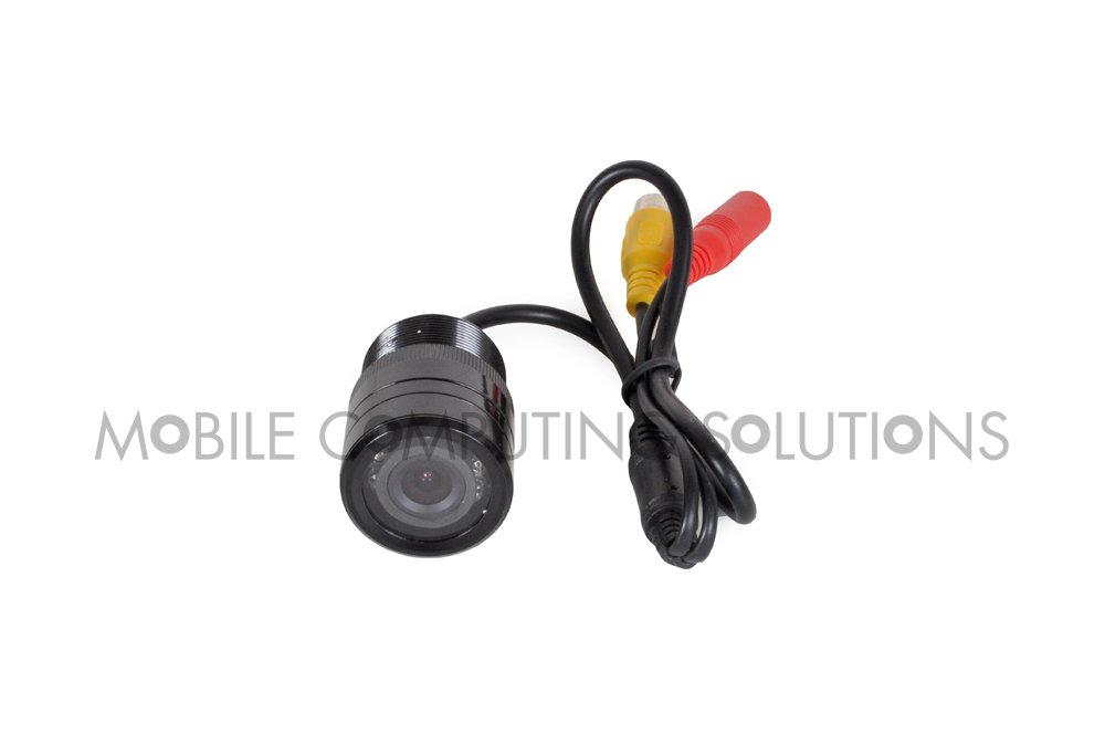 28mm Rear View Night Vision CCD Camera with Distance Guide and Bonus Drill Bit by Mobile Computing Solutions