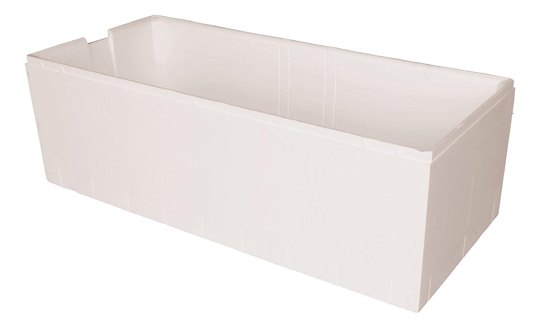 Acryl - Badewanne linHa I 160 x 70 cm I Weiß I Wanne I Badewanne I Bad I Badezimmer aquaSu 80163 8