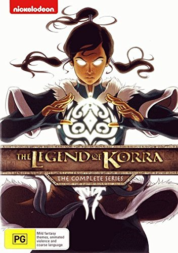 Legend of Korra: The Complete Series [Books 1 - 4] [NON-USA Format, Region 4 Import -
