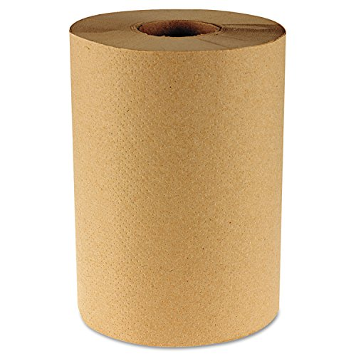 Boardwalk 6252 Hardwound Paper Towels, 8'' X 350ft, 1-Ply Natural, 12 Rolls/carton by lovithanko
