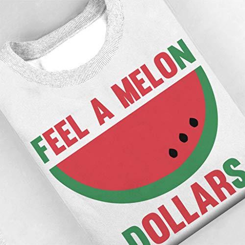 Coto7 Feel A Melon Dollars Mens Sweatshirt