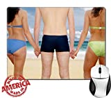 Best Mouse Pad Friend Swimsuits - Luxlady Natural Rubber Mouse Pad/Mat with Stitched Edges Review