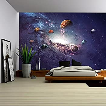 Wall26   High Resolution Images Presents Creating Planets Of The Solar  System.   Removable Wall