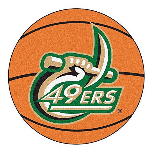 - NCAA University of North Carolina - Charlotte Forty Niners Basketball Shaped Mat Area Rug
