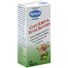 Hylands Homeopathic Cold Sores & Fever Blisters 100 Tablets