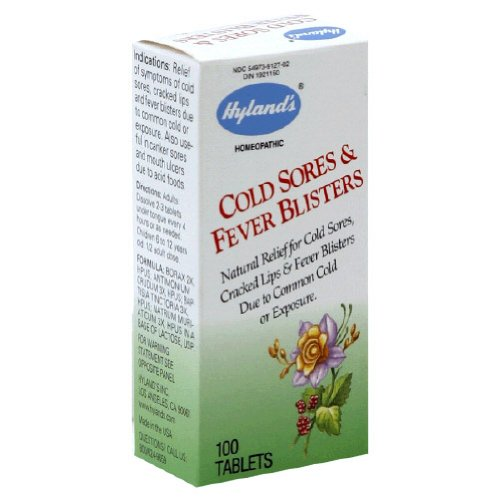 Hylands Homeopathic Sores Blisters Tablets