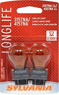 2-PK SYLVANIA 3157NA/4157NA Long Life Automotive Light Bulb