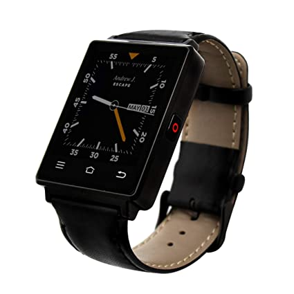 Amazon.com: D6 GPS Watch Android Smart Watch With SIM Card ...
