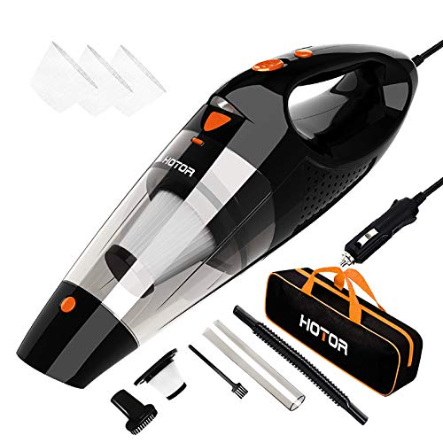Car-Vacuum-Cleaner-High-Power-HOTOR-Vacuum-Cleaner-for-Car-DC-12V-Portable-Handheld-Auto-Vacuum-for-Car-Use-Only-The-Best-Car-Vacuum--Black-Orange