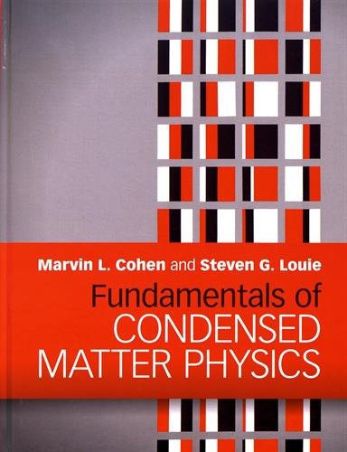 FUND.OF CONDENSED MATTER PHYSICS
