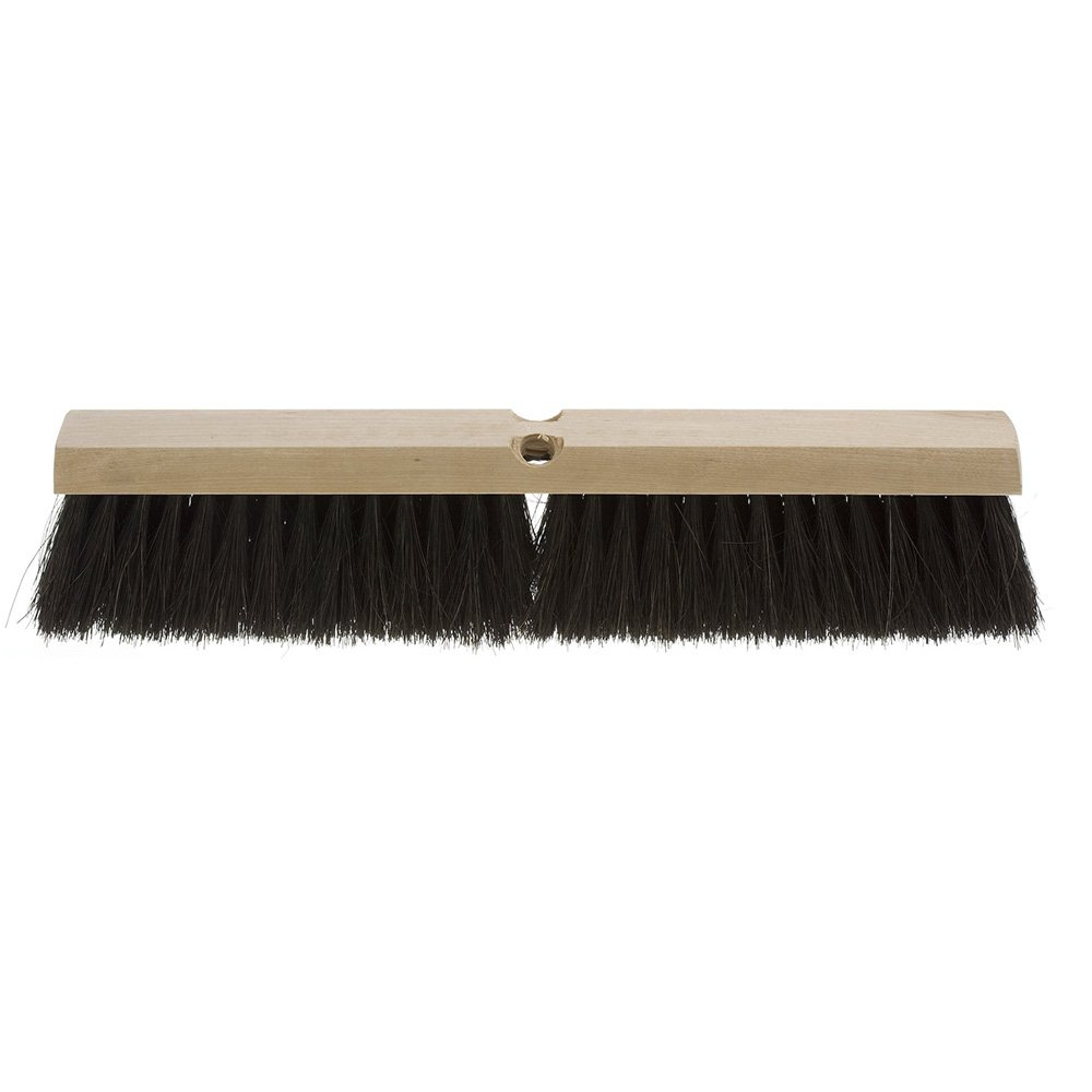 Weiler 42049 36'' Medium Sweep Floor Brush Black