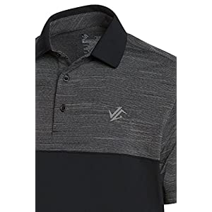 Jolt Gear Dri-Fit Mens Moisture Wicking Two-Tone Polo Cleaning Shirt - logo closeup