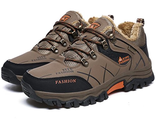 Women Sneaker ONENICE 27 Climbing G Walking Shoes Leather Running for Sport Breathable Outdoor Shoes Trail Athletic Men Travel Brown Camping Hiking qvHn4zvt