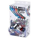 Maxam GFKR100 100 Piece Bottle Opener Keychains Countertop Display (1 Pack) Review