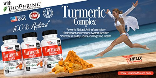 51oixAd%2BndL - Turmeric Curcumin with BioPerine Black Pepper Extract - 120 Vegan Capsules Made with Organic Turmeric Root Powder - Best Natural Joint Pain Supplement & Anti-Inflammatory Pills - Highest Potency