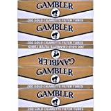 Gambler Light King Size Cigarette Tubes 5 Boxes