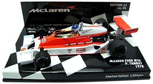 Price comparison product image Minichamps 1 / 43 McLaren Ford M26 1978 P. Tanpei (japan import)
